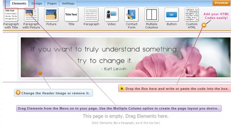 Image of Drag & Drop Editor | Diva Designer Web | Scoop.it
