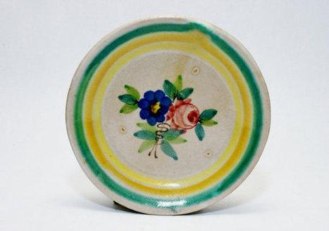 6 MACS Post ICS Italian Ceramic Plates Signed Max Melamerson Manifattura Artistica Ceramica Salernitana Gambone Dolker Pottery ITALY Vietri   S U B L I M E * D E S I G N   Scoop.it