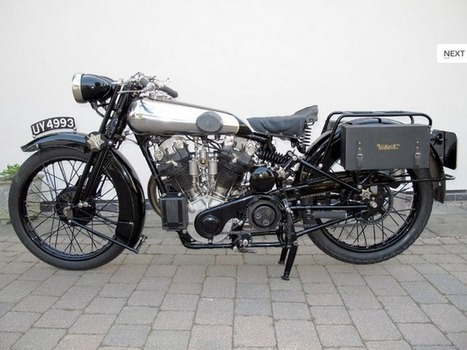 Rusty Knuckles - Motors Music & Moonshine: 1929 Brough Superior SS100 Motorcycle | Vintage Antique Motorcycles | Scoop.it