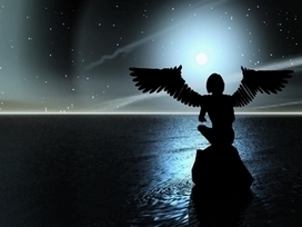 Les Anges, Guides et esprits lumineux | La double vue via telephone consiste mi- survol | Scoop.it