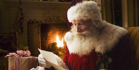 What Santa Claus Can Teach The Rest Of Us About Living Well: Laura Schocker | Radical Compassion | Scoop.it