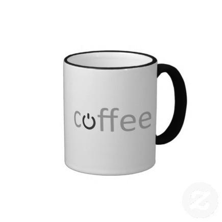 Coffee Power Mug from Zazzle.com | SNR | Scoop.it