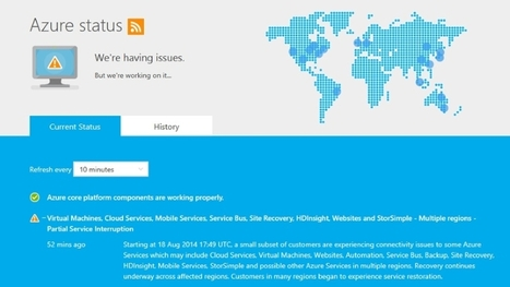 Microsoft Azure Outages Felt Around the Globe | Cloud and virtualization | Scoop.it