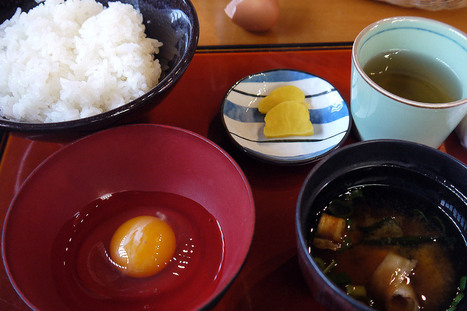 #TanKuma - Raw Egg On Rice #Restaurant | What makes Japan unique | Scoop.it