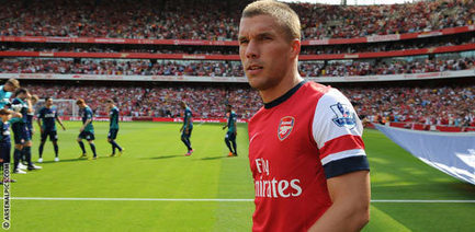 Wenger - Podolski will adapt and succeed | News ... - Arsenal.com | Arsenal news | Scoop.it