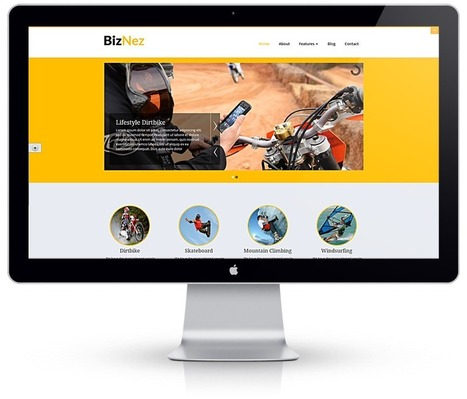 BizNez Multipurpose Premium WordPress Theme | Sketchthemes | Scoop.it