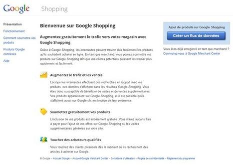 Comment Inscrire un Site à Google Shopping et Importer son Flux de Données ? | WebZine E-Commerce &  E-Marketing - Alexandre Kuhn | Scoop.it