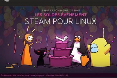 Steam s'installe officiellement sur Linux | Geek 2015 | Scoop.it