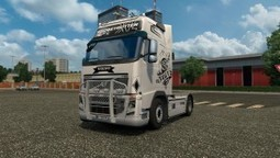 Poyo Trans Skin for Volvo FH16 Classic | ETS2 Mods | Scoop.it