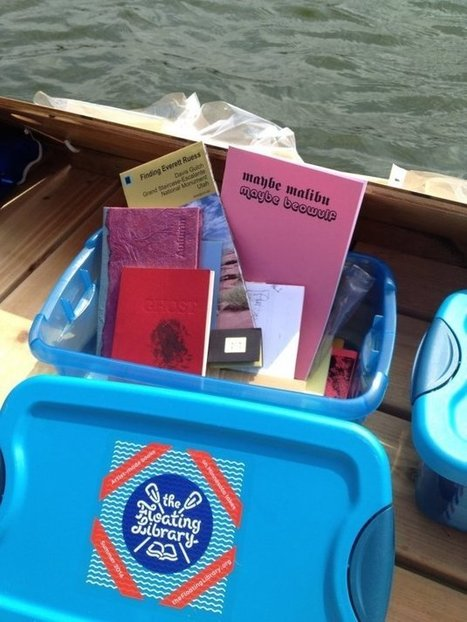 Floating Library Proves Books Should Be Shared In Improbable Places | Reading discovery | Scoop.it