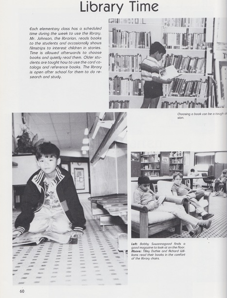 How school libraries have changed over the past 25 years! Doug Johnson's Blue Skunk Blog | Flying Off the Shelf | Scoop.it