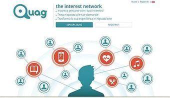 È online Quag.com, il social network utile che collega persone con gli stessi interessi - Spot and Web | Social Media Trends | Scoop.it