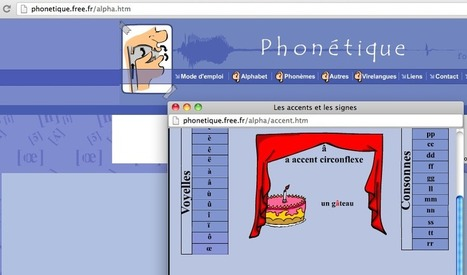 Phonétique FLE. Compréhension orale. Production orale. Un excellent site à découvrir. | Conny - Français | Scoop.it