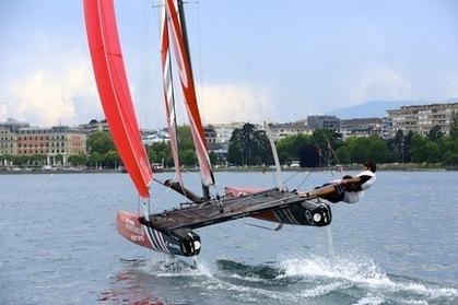 « J'ai volé sur l'eau en Flying Phantom » - Figaro Nautisme   Foilers!   Scoop.it
