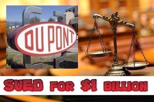 DuPont Co. Sued for $1 Billion Over Genetic Technology
