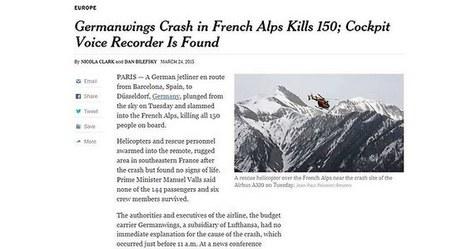 Quand les médias bloquent les pubs sur les articles parlant de tragédies | Médias & Web | Scoop.it
