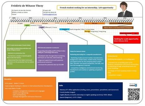 My resume as a gantt chart | Frédéric de Thezy - Blog | Scoop.it