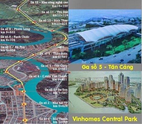 Vị trí căn hộ Vinhomes Central Park quận Bình Thạnh | Vinhomes Central Park | Scoop.it