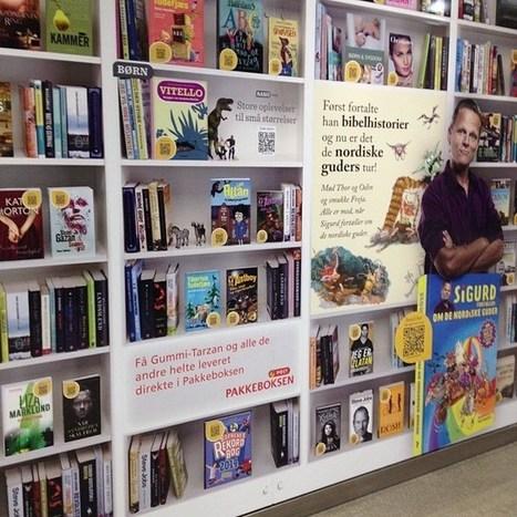 Metroenforvandler veggene sine til Danmarks største bokreol   Bibliotekutvikling   Scoop.it