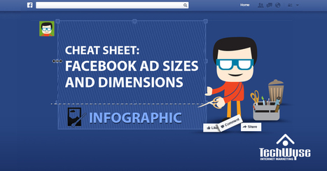 Facebook Ad Specifications and Dimensions [INFOGRAPHIC] | How To Win Online Relationships And Influence Rankings | Scoop.it