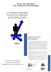 Book: Questionner les mobilités résidentielles à l'aune de la multilocalité | Multilocalité | Scoop.it