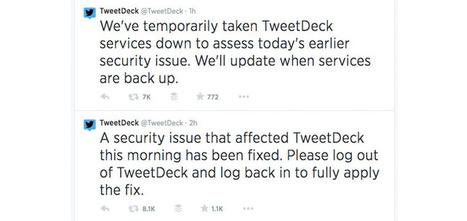 TweetDeck Hacked And Temporarily Taken Offline   SEO Tips, Advice, Help   Scoop.it