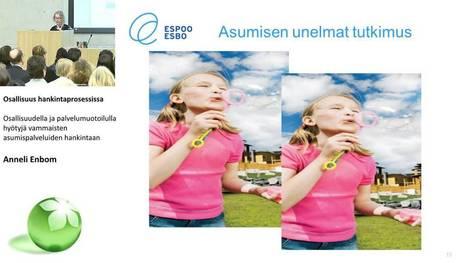 Osallisuudella ja palvelumuotoilulla hyötyjä vammaisten asumispalveluiden hankintaan / Anneli Enbom - YouTube   Osallisuuden oikotie - Short Cuts to Participation   Scoop.it