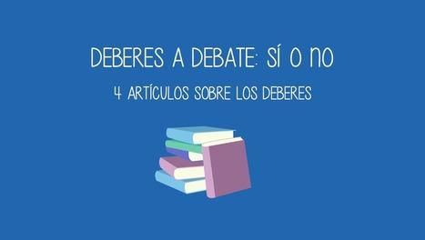 4 artículos sobre los deberes | EDUCACIÓN Y PEDAGOGÍA | Scoop.it