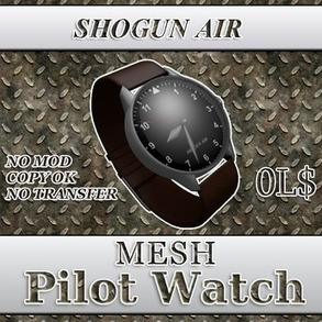SHOGUN AIR PILOT WATCH | Second LIfe Good Stuff | Scoop.it