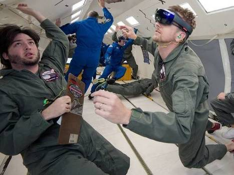 Astronauts are going to take Microsoft's augmented reality headset into space | Managing Technology and Talent for Learning & Innovation | Scoop.it