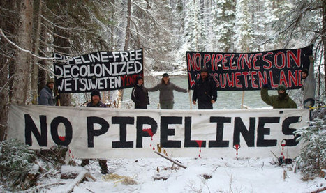 The Unist'ot'en Stand Up Against Pipelines | CrimethInc. Far East Blog | Oil and Pipelines | Scoop.it