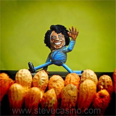 Steve Casino's Celebrity Figurines Are Nuts, Literally! | Strange days indeed... | Scoop.it