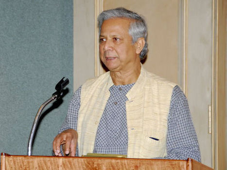 Muhammad Yunus Urges Students to Form 'Social Businesses' - India West | TiEcon | Scoop.it