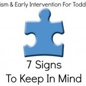 Autism and Early Intervention For Toddlers: 7 Signs To Keep in Mind | Children with Special Needs: Diagnoses, interventions, services, and the debate over medications | Scoop.it