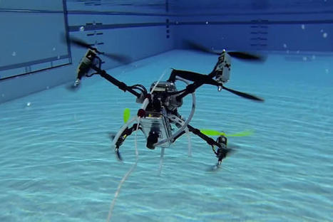 This Navy-funded drone is at home in sea and sky | SWGi Engineering News | Scoop.it