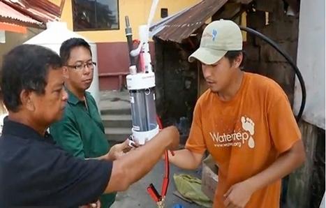 Un procédé ingénieux pour rendre l'eau potable aux Philippines | Gestion des services aux usagers | Scoop.it