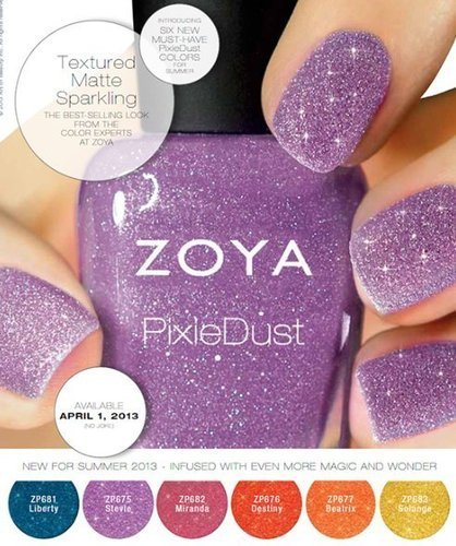 Zoya Pixie Dust Collection For Summer 2013 | Women Fashion Accessories | Scoop.it