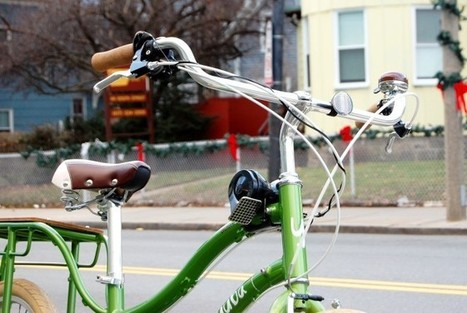 Sound Safety: 'Loud Bicycle' Horn Lets You Honk Like a Car | Wired Design | Wired.com | Radio Show Contents | Scoop.it