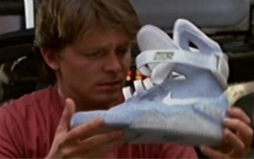 Is Nike Unveiling Self-Lacing Marty McFly Shoes? [VIDEO] | Prozac Moments | Scoop.it