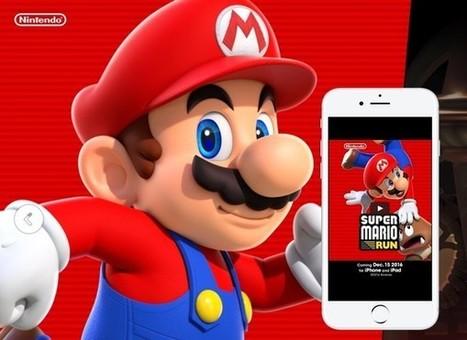 Super Mario Run arrive le 15 décembre sur iPhone et iPad | Info iDevice | Scoop.it