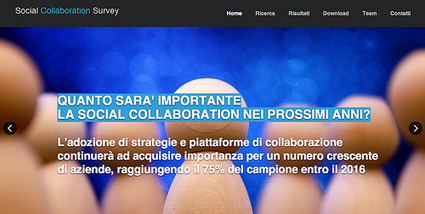 La collaboration nel futuro delle imprese italiane | Social Intranet and Mobile | Scoop.it
