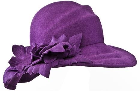 Women of Value: P is for Purple-Hats! | Ideas 2 Propel U | Womens' Hats | Scoop.it