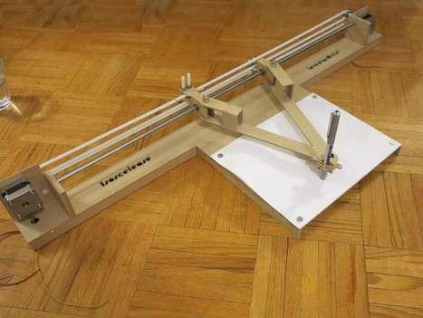The Isoscel-Ease Drawing Robot | Heron | Scoop.it