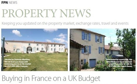 Buying in France on a UK Budget | World of Expats | Fractional Holiday Home Ownership | Scoop.it