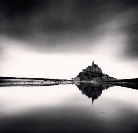 Michael Kenna au Mont-Saint-Michel | Photography Stuff For You | Scoop.it