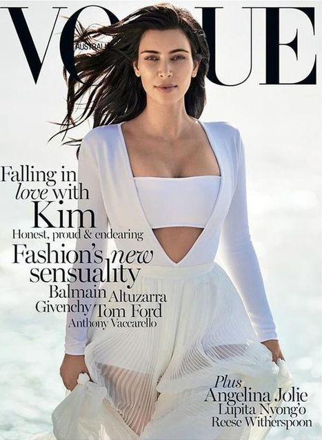 Kim Kardashian Australian Vogue Cover Star - Live Style VogueLive Style Vogue | Hot Fashion | Scoop.it