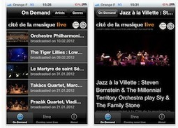 Une application mobile pour accéder à des concerts ! | Courants technos | Scoop.it
