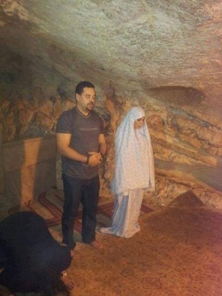 بالصور اصالة تزور فلسطين وتصلي في الاقصي | Zain Blog | Scoop.it