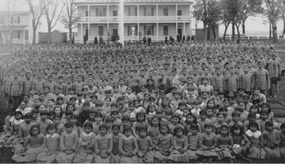 Children and Youth in History | Carlisle Indian School Students [Photograph] | Carlisle Industrial (Indian) School | Scoop.it