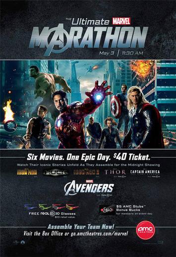 AMC Offers Marvel Movie Marathon Leading Up To The Avengers - Cinema Blend | Machinimania | Scoop.it